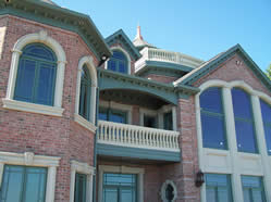 custom aluminum cornice eave trim southeast michigan luxury home residential