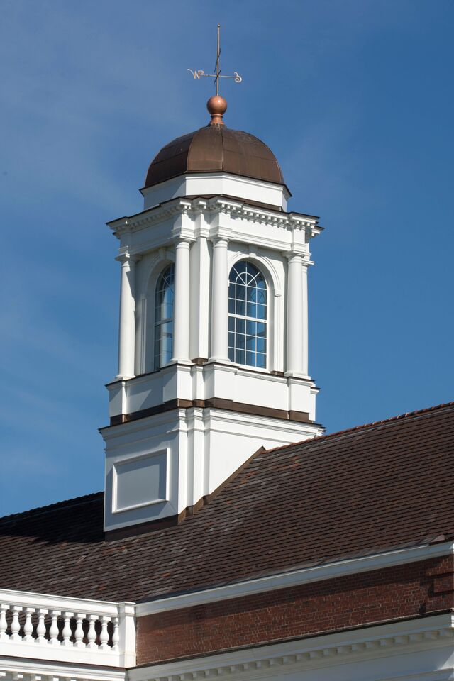 Aluminum Cupola Refurbished Copper Top Historic Renovation